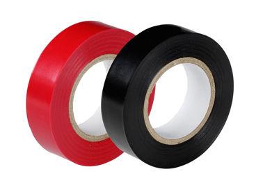Billede af Isolerbånd  rød  15mm x 10M