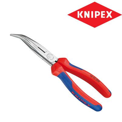 Billede af Spidstang buet 200mm Knipex svær pvc
